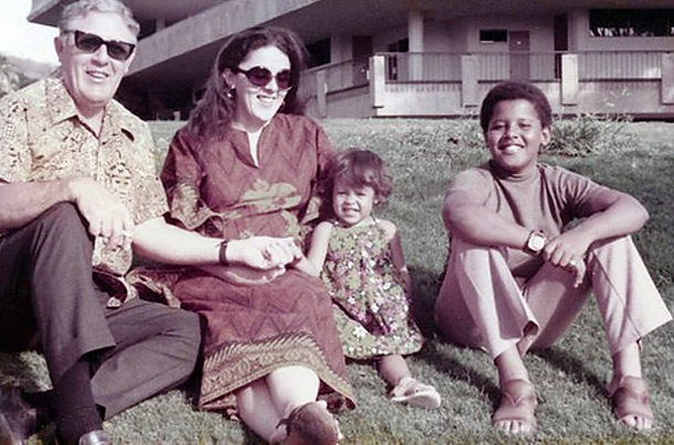 Barack Obama Mother and Father
