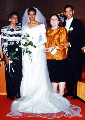 The Obama's Wedding