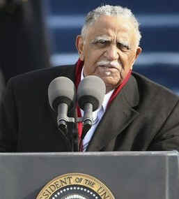 Watch the Official White House YouTube of the Inauguration Benediction by Reverend Joseph Lowery.