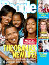 Barack Obama and his family on the front cover of People magazine in the November 24, 2008 issue.
