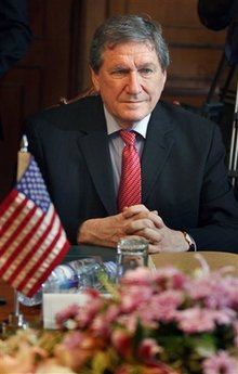 On February 12, 2009 Richard Holbrooke meets with Pakistan's Foreign Minister,