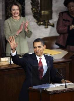 president obamas speech to congress on feb 24 2009 essay Full text of obama's speech to congress tue 24 feb 2009 2141 est first published on tue 24 mr vice-president, members of congress and the first lady of the.