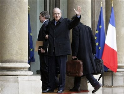 President Barack Obama's Middle East envoy George Mitchell meets with French foreign affairs officials in Paris, France.