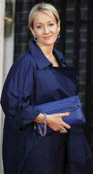 Special Guest JK Rowling arrives at 10 Downing Street for G20 dinner.