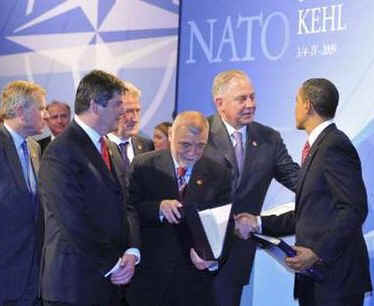 President Obama welcomed Croatia to the NATO family of countrie