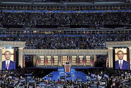 Watch the Official Obama YouTube of Obama's DNC Speech in Denver, CO on August 28, 2008