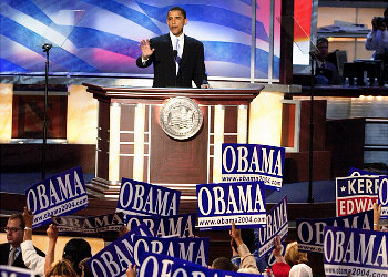 Senator Barack Obama delivers the keynote address at the Democratic National convention on July 27, 2004. Barack Obama - Important Speeches and Remarks. Eleven significant Barack Obama speeches from October 2002 - November 2008.