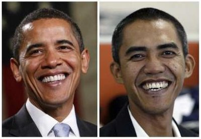 A reporter in Jakarta Indonesia, Obama's former home, bears a resemblance to President Barack Obama. The 34-year old Iham Anas is now well-known in Indonesia do to a media frenzy surrounding his similar looks to US President Obama.
