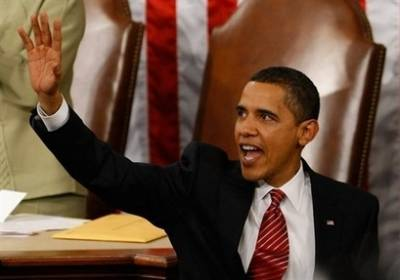 Watch the Official White House YouTube of Obama 's Address to Congress on February 24, 2009