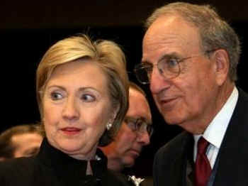 Secretary of State Hillary Clinton and US Special Envoy to the Middle East George Mitchell travel to the Egyptian Red Sea resort for the International Conference in Support of the Palestinian Economy for the Reconstruction of Gaza.