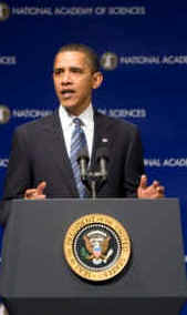 Watch the White House YouTube of Obama's Remarks on Science and the Flu Crisis on April 26, 2009.