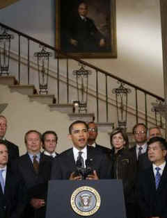 Watch the White House YouTube of President Obama's Auto Industry Remarks on April 30, 2009.
