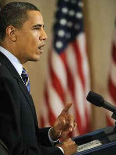 Watch the White House YouTube of Obama's Remarks on Job Creation and Training on May 8, 2009.